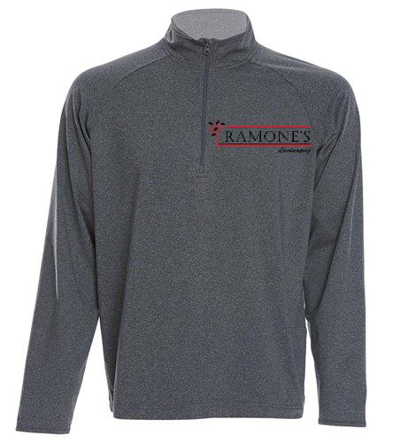 Ramone's 1/2 Zip - SwimOutlet Sport-Tek®Sport-Wick® Stretch 1/2-Zip Pullover