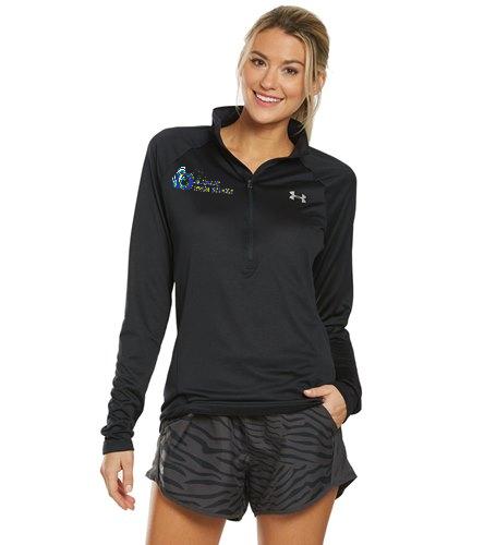 DSS SWAG - Under Armour Women's UA Tech Half Zip Long Sleeve