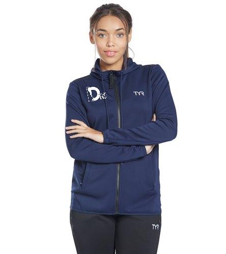 D-fit Gear - TYR Women's Team Full Zip Hoodie