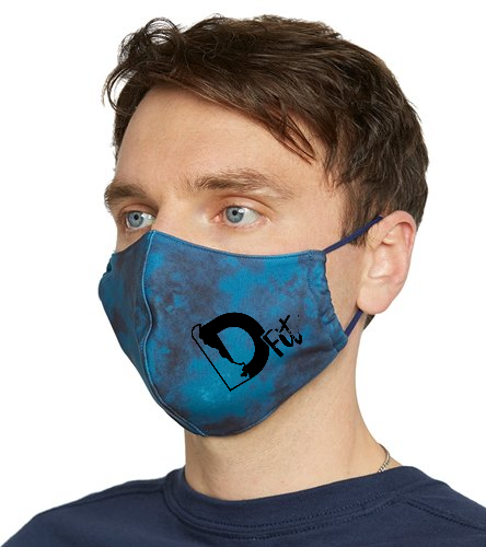 D-fit Swag - Everyday Yoga Tie Dye Face Mask