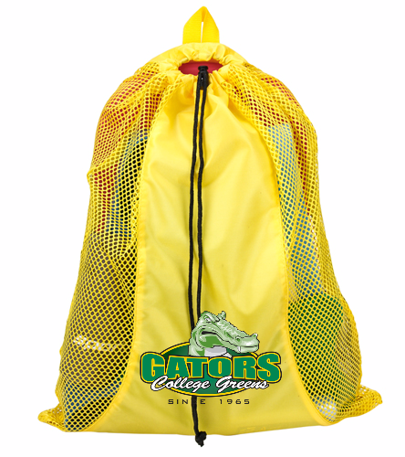 Gold Mesh Bag with OG CG Logo - Sporti Premium Mesh Backpack
