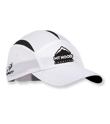 White MHA Hat - Headsweats Go Hat