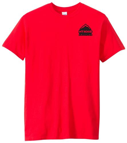 Red Unisex Cotton MHA Tee - SwimOutlet Unisex Cotton Crew Neck T-Shirt