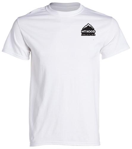 White Unisex MHA Cotton Tee - SwimOutlet Unisex Cotton Crew Neck T-Shirt