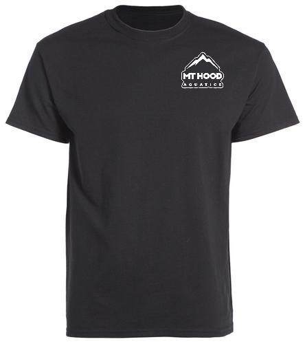 Black Unisex MHA Cotton Tee - SwimOutlet Unisex Cotton Crew Neck T-Shirt