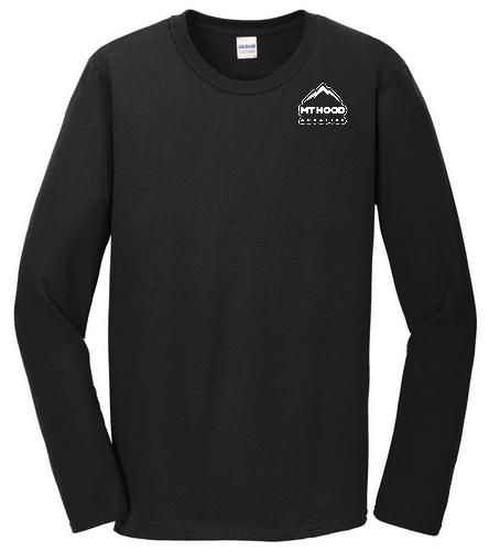 Black LS MHA Unisex Tee - SwimOutlet Cotton Unisex Long Sleeve T-Shirt