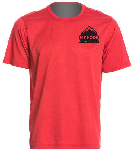 Red MHA Mens Tech Tee - SwimOutlet Men's Tech Tee