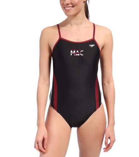 MAC Female Rapid Splice - Speedo Rapid Spliced Energy Back Swimsuit