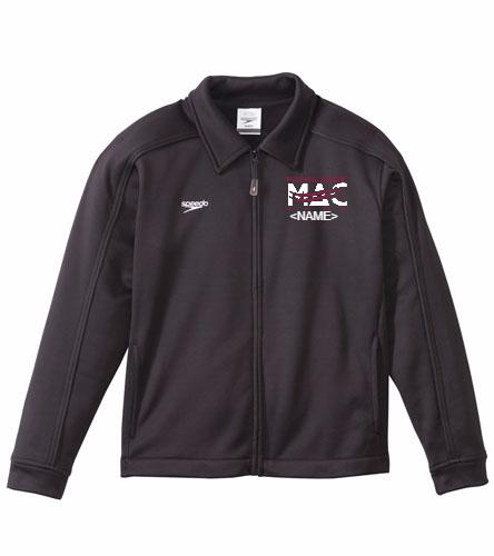 MAC Youth Jacket - Speedo Streamline Youth Warm Up Jacket