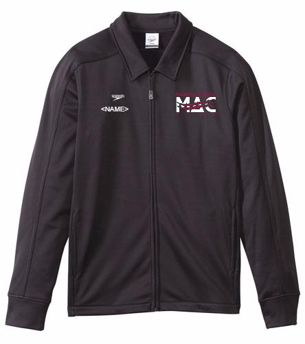 MAC Male Jacket - Speedo Streamline Male Warm Up Jacket