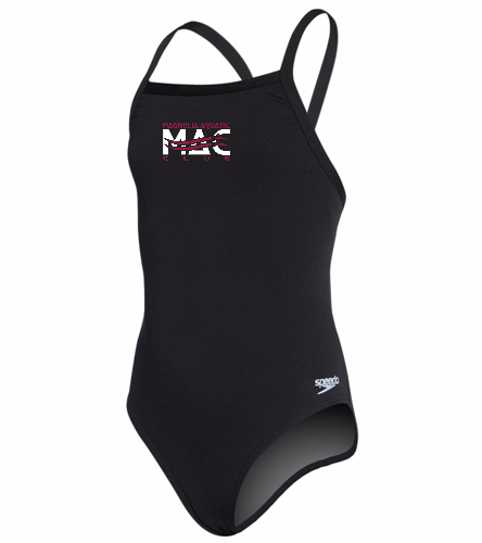 MAC Youth Endurance  - Youth Solid Endurance + Flyback Training Swimsuit