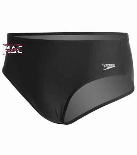 MAC Solid Brief - Speedo Solid Endurance + Brief Swimsuit