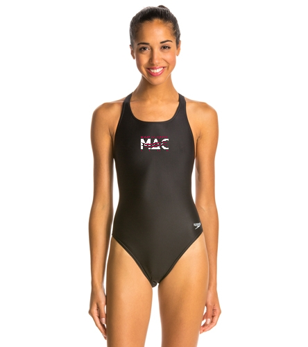 MAC Female Suit - Speedo PowerFLEX Eco Solid Super Pro Women's Swimsuit