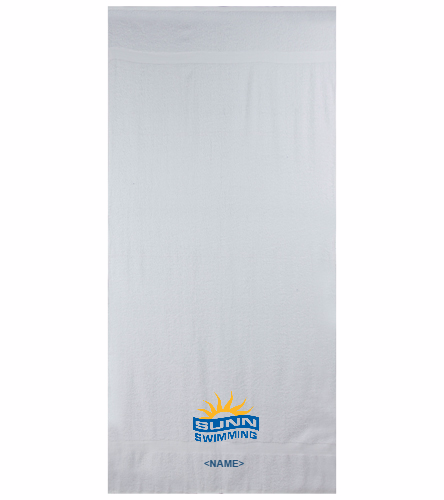 SUNN Swimming - Royal Comfort Terry Cotton Beach Towel 32 x 64