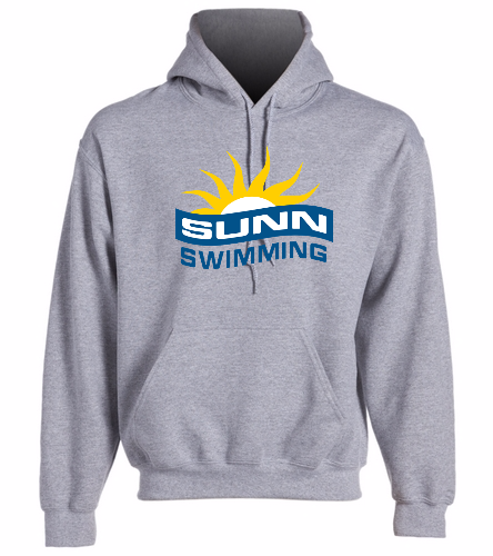 SUNN Swimming  -  Heavy Blend Adult Hooded Sweatshirt