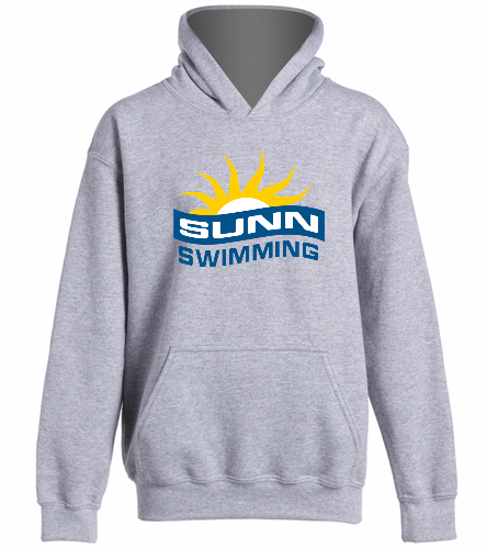 SUNN Swimming  -  Heavy Blend Youth Hooded Sweatshirt