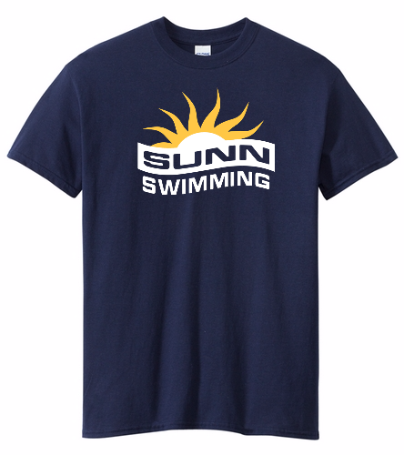 SUNN Swimming - Heavy Cotton Adult T-Shirt