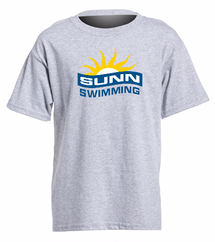 SUNN Swimming  - Heavy Cotton Youth T-Shirt