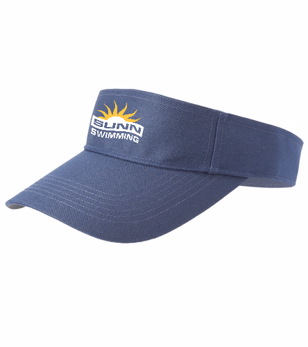 SUNN Swimming - SwimOutlet Custom Cotton Twill Visor