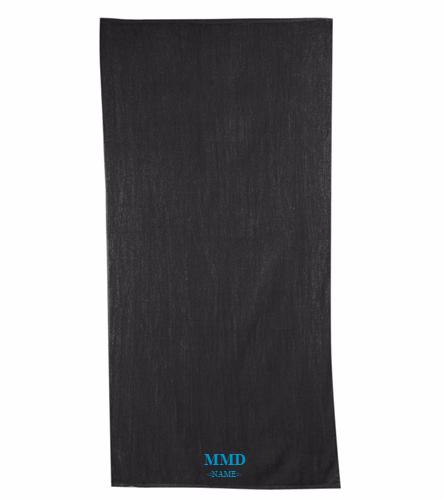 MMD Team Towel  - Diplomat Terry Velour Beach Towel 30 x 60