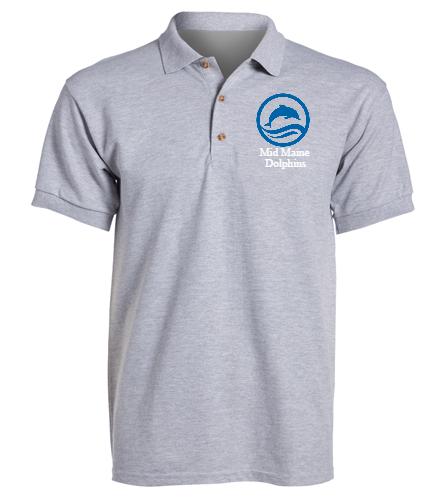 MMD - SwimOutlet Ultra Cotton Adult Men's Pique Sport Shirt