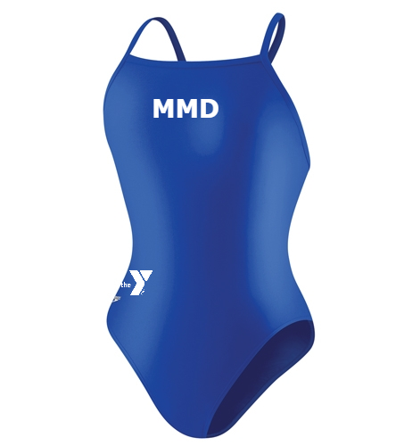 MMD - Speedo PowerFLEX Eco Solid Flyback Youth Swimsuit