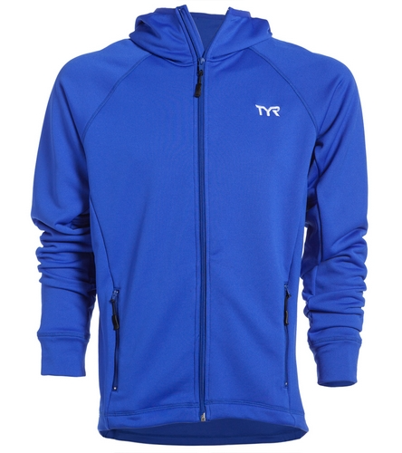 Dolphins Warmup Jacket - TYR Alliance Victory Male Warm Up Jacket
