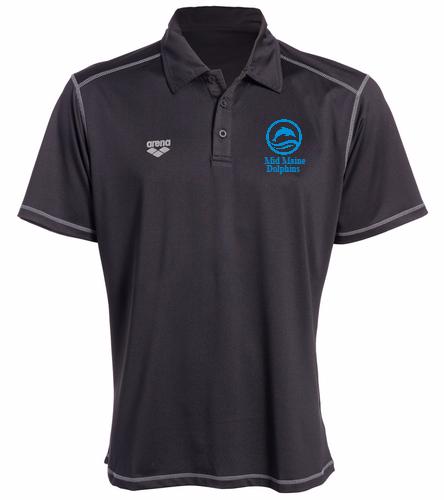 Parents Polo Shirt Black - Arena Camshaft USA Unisex Polo Shirt