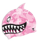 TYR Shark Fin Junior Silicone Cap