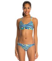 Illusions Dot 2 Dot Two Piece Swimsuit Set