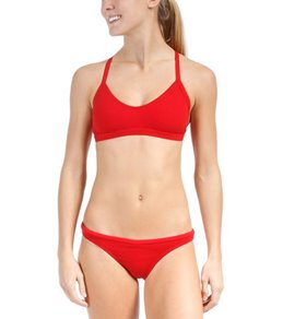 Illusions Red Two Piece Swimsuit Set