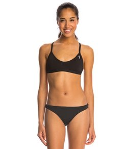 Illusions Black Two Piece Swimsuit Set