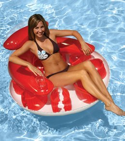 Poolmaster Water POP Circular Lounge