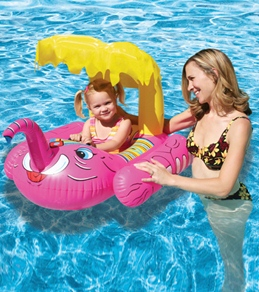 Poolmaster Elephant Baby Seat Rider with Top