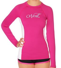 O'Neill Women's Skins L/S Crew Rashguard