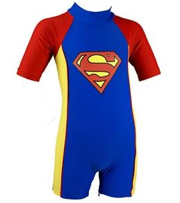 Sunsmart Superman UV 1 Piece Swimwear w/Towel Cape