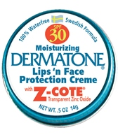 Dermatone Mini Tin SPF 30 Transparent Zinc Oxide 0.5oz