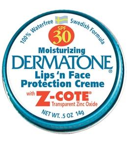 Dermatone Mini Tin SPF 30 Transparent Zinc Oxide 0.5oz