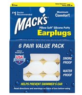 Mack's Pillow Soft Earplugs 6 Pair