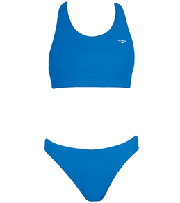 The Finals Solid Workout Bikini Polyester