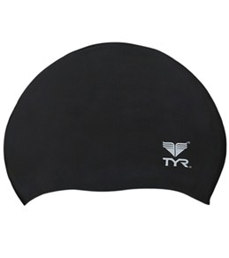 TYR Wrinkle-Free Silicone Junior Cap