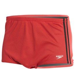 Speedo Solid Poly Mesh Square Leg