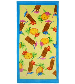 Wet Products Pineapple Party Beach Towel