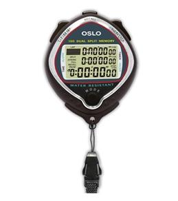 Oslo Silver 100 Dual Memory Stopwatch