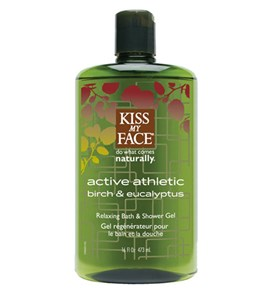 Kiss My Face Active Athletic Shower Gels 16oz