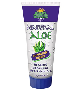 Rocky Mountain Sunscreen Natural Aloe Sunburn Relief 1.9oz