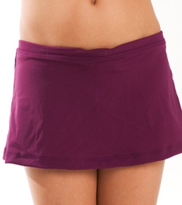 Girls4Sport Youth Plum Swim Skirt