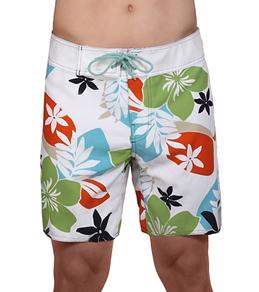 Sauvage Hawaiian Floral Retro Boardshorts