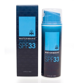Watermans SPF 33 Lotion 3.4oz