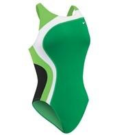 Nike Swim Color Swirl Fastback Tank